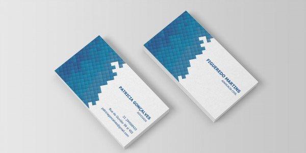 Modelo 13 de cartão de visitas para advogado