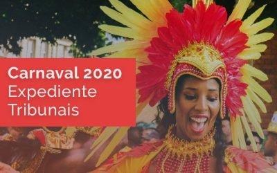 Carnaval 2020: expediente dos Tribunais no feriado