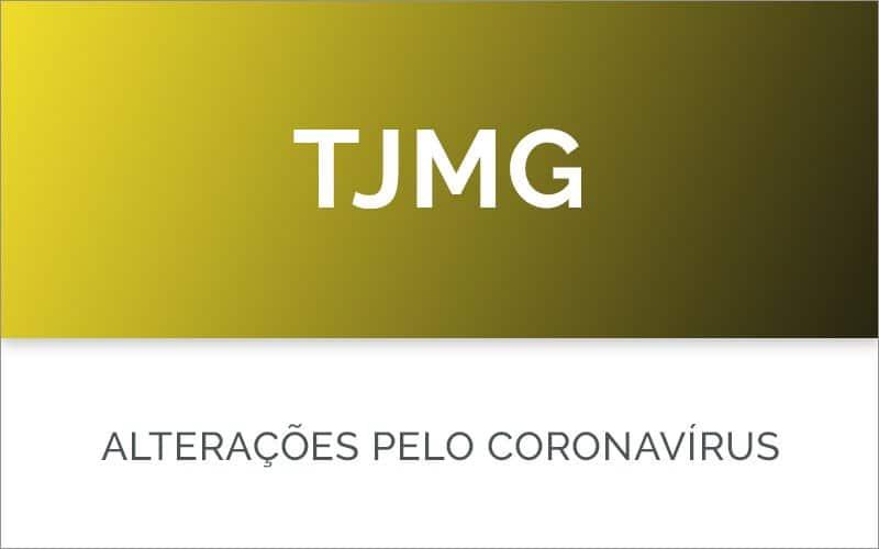 TJMG no coronavírus