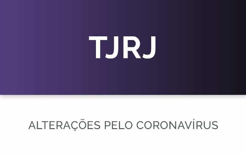 Coronavírus no TJRJ